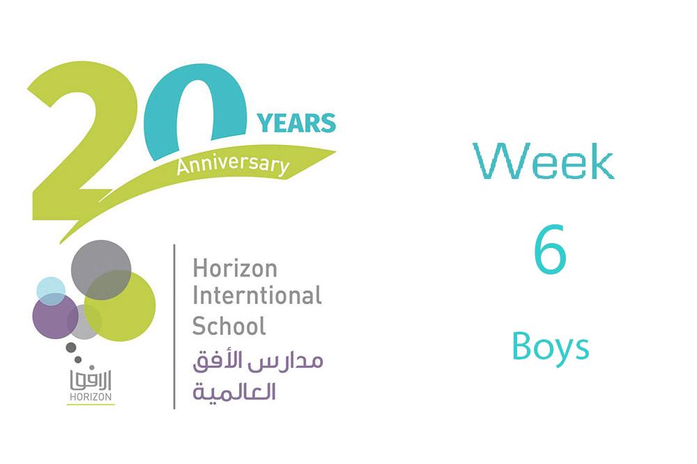Boys Week #6