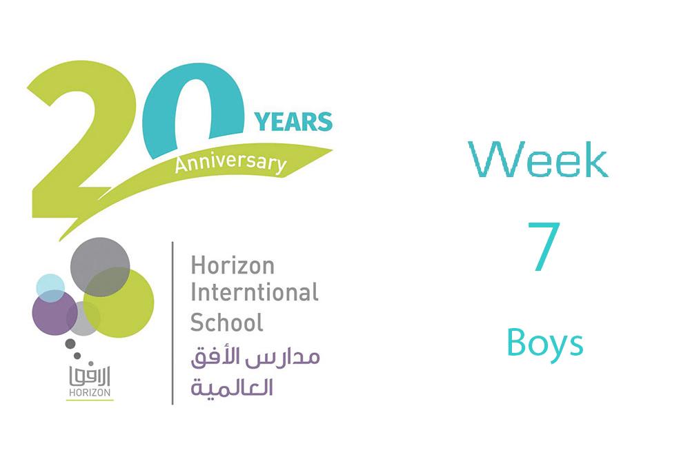 Boys Week #7
